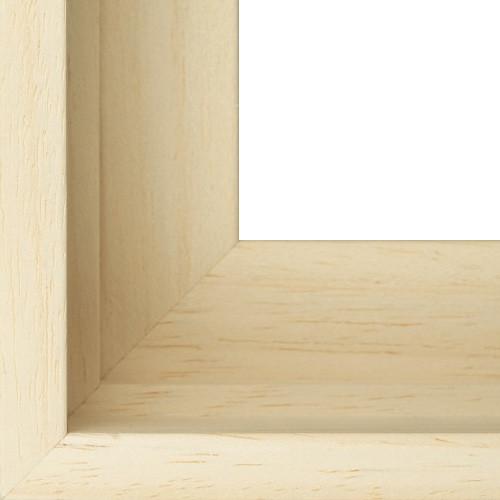 baklijst hout blank